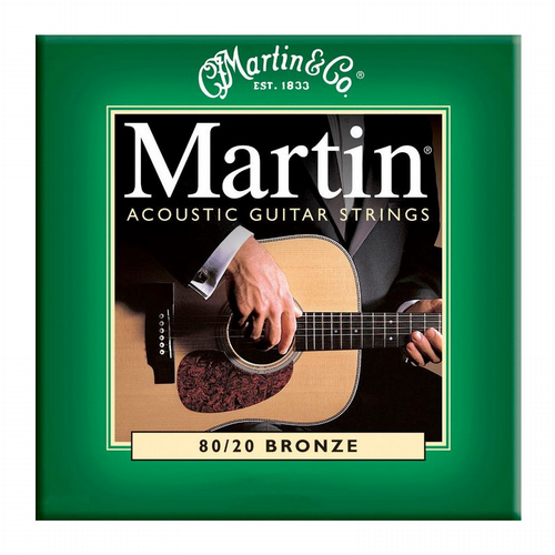 Martin M170 Extra Light 80/20 Bronze Acoustic Guitar Strings 10-47